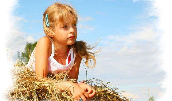 Вероника Корниенко в детстве