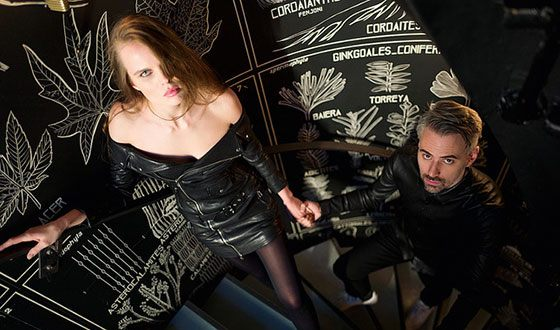 Александра Ревенко и ее муж Антон Севидов