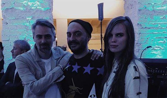 Александра Ревенко с Кириллом Серебренниковым