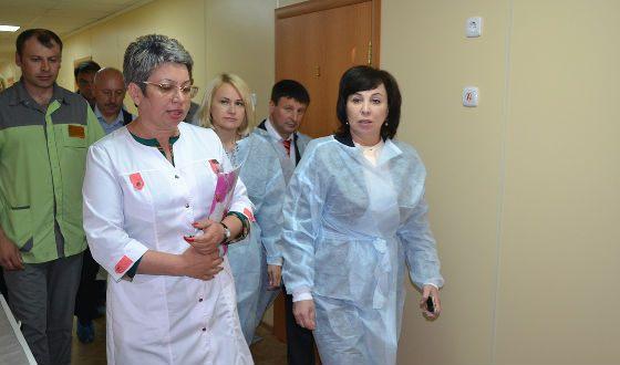 Вера Щербина инспектирует здравоохранительные учреждения