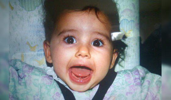 Наоми Скотт в детстве
