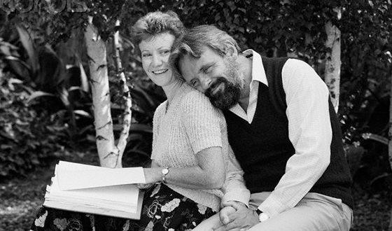 Энтони Хопкинс и его вторая жена Дженнифер Линтон