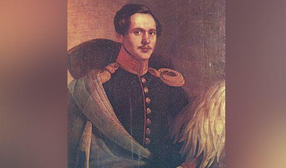 Михаил Лермонтов в вицмундире Лейб-гвардии Гусарского полка