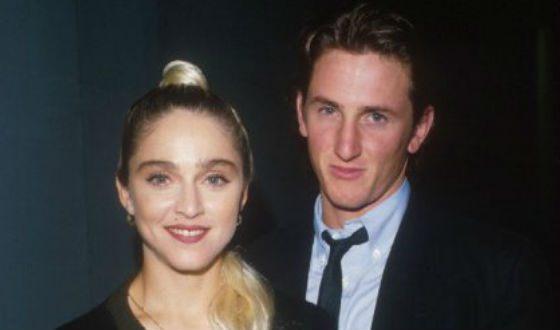 На фото: Шон Пенн и Мадонна