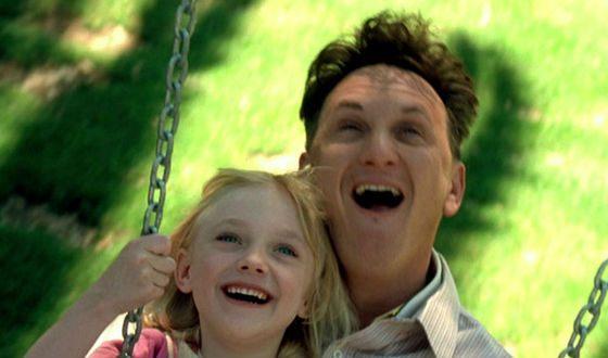 В «Я – Сэм» Шон Пенн сыграл умственно отсталого отца