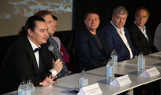 Жора Крыжовников на премьере фильма «Горько-2»