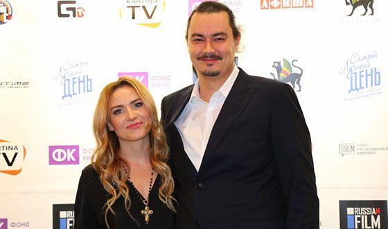 Жора Крыжовников и его жена Юлия Александрова