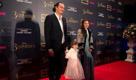 Жоры Крыжовников с дочерью и женою