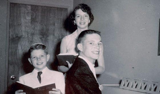 Терри Гиллиам и его семья