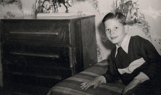 Терри Гиллиам в детстве