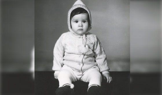 Анна Пингина в детстве