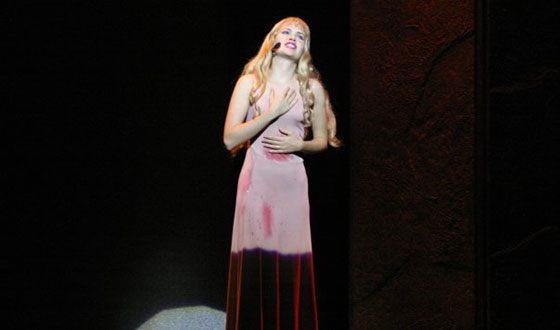 Анна Пингина в мюзикле «NotreDamedeParis»
