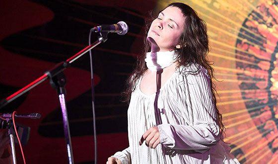 Анна Пингина на фестивале «Горлица»