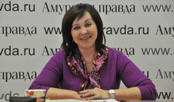 Врио губернатора Сахалинской обл. Вера Георгиевна Щербина