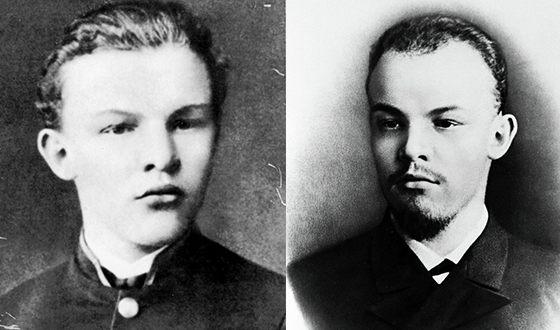 Владимир Ульянов в молодости