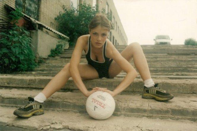 Виктория Маслова в юности