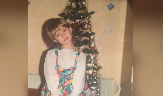 Яна Кошкина в детстве