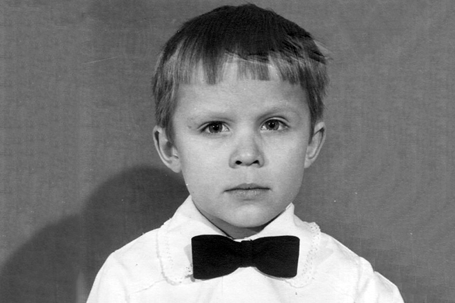 Артур Руденко в детстве