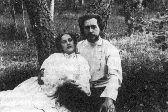 Леонид и Александра Андреевы, родители Даниила Андреева