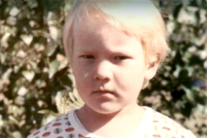 Владимир Селиванов в детстве