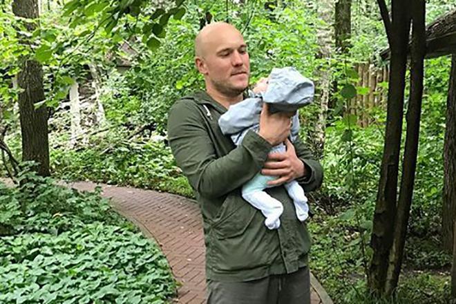 Владимир Селиванов с дочкой