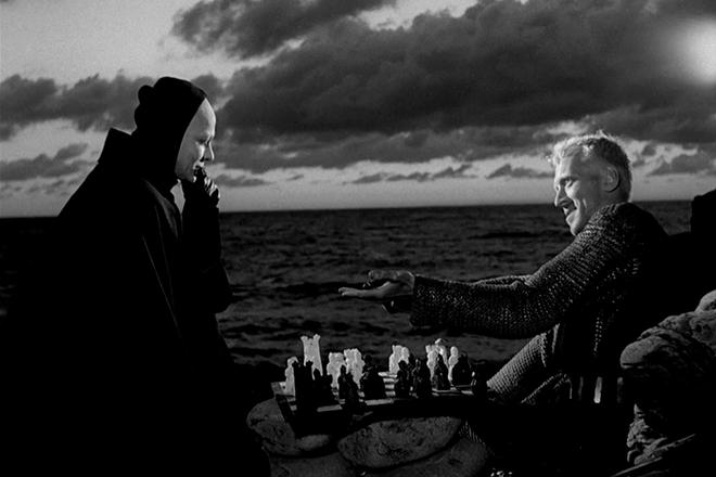 Кадр из фильма Ингмара Бергмана «Седьмая печать»