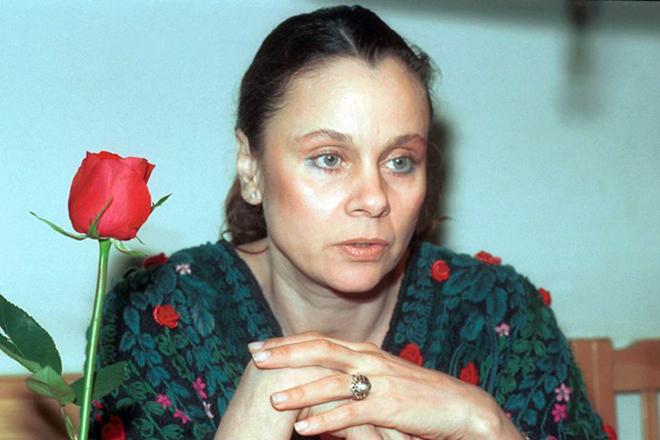 Любовь Полищук страдала саркомой позвоночника