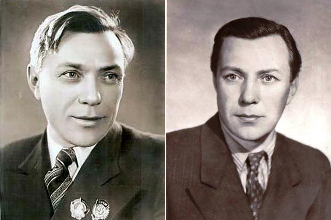Борис Чирков в молодости