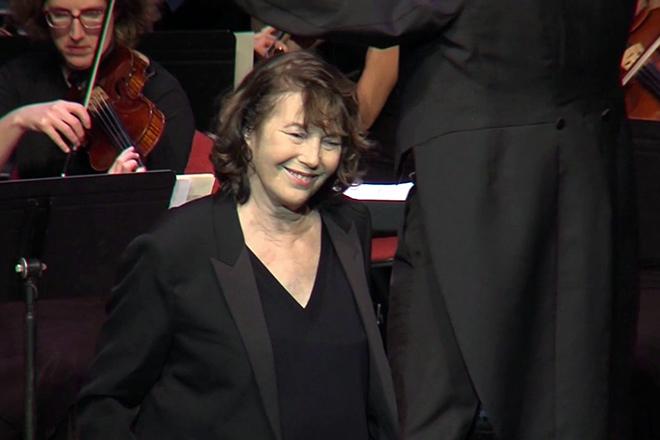Джейн Биркин в 2017 году