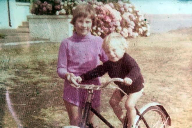 Беар Гриллс в детстве