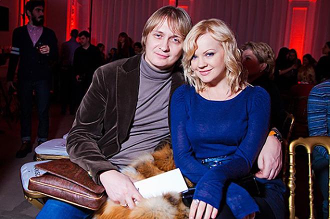 Ирина Ортман с первым мужем Владимиром Перевозчиковым