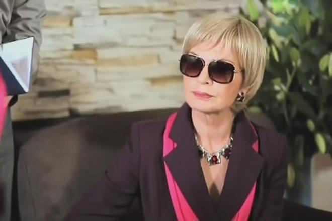 Людмила Чурсина в сериале «До смерти красива»