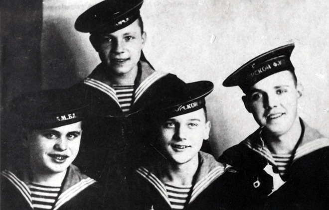 Георгий Юматов служил во флоте