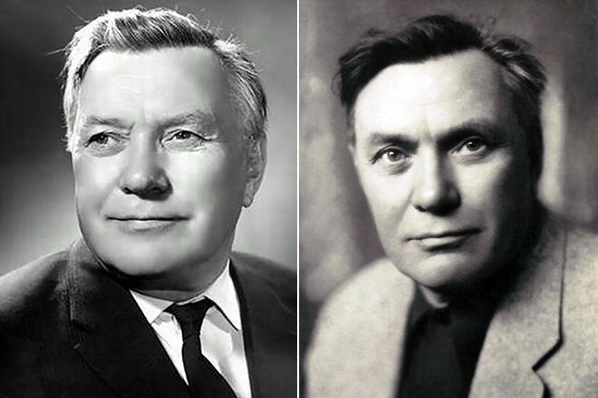Актер Борис Чирков