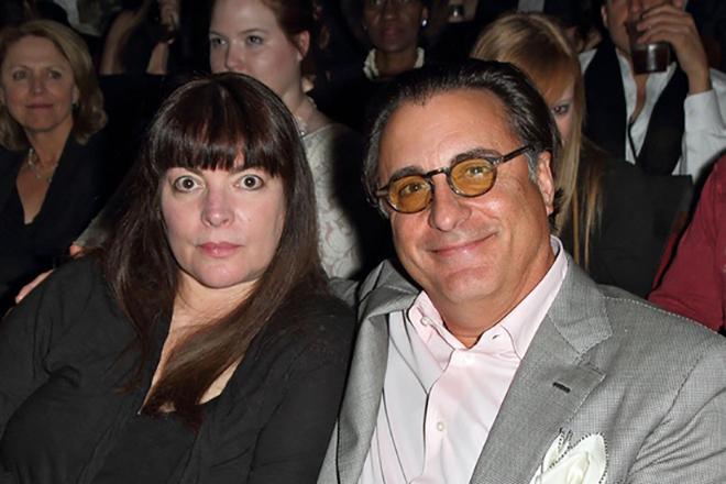 Энди Гарсиа и его жена