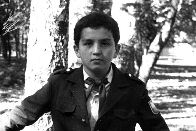 Кантемир Карамзин в детстве