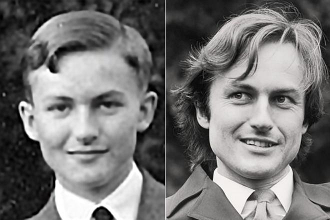Ричард Докинз в молодости