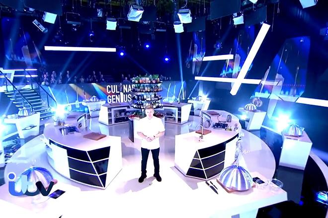 Гордон Рамзи в шоу «Кулинарные гении»