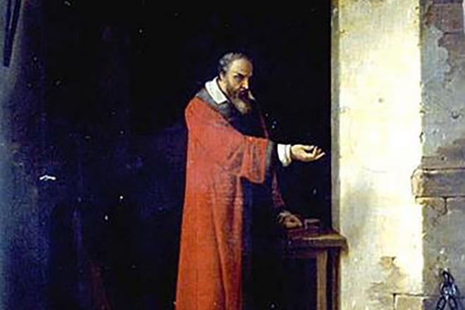 Галилео Галилей в тюрьме