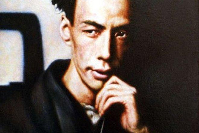 Портрет Рюноскэ Акутагавы