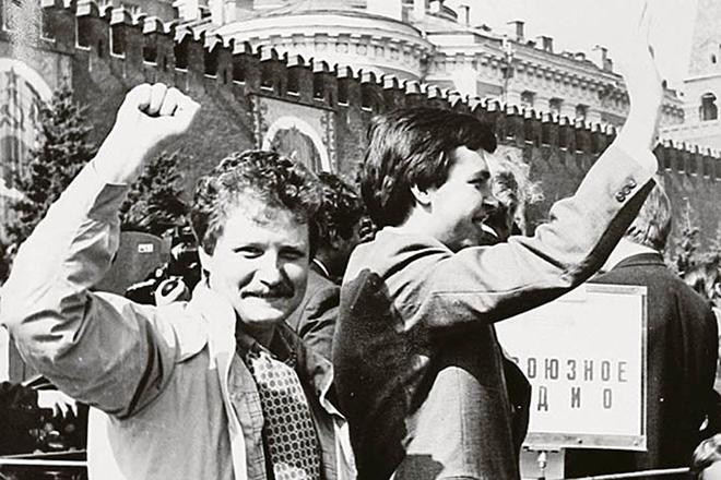 Юрий Поляков в молодости
