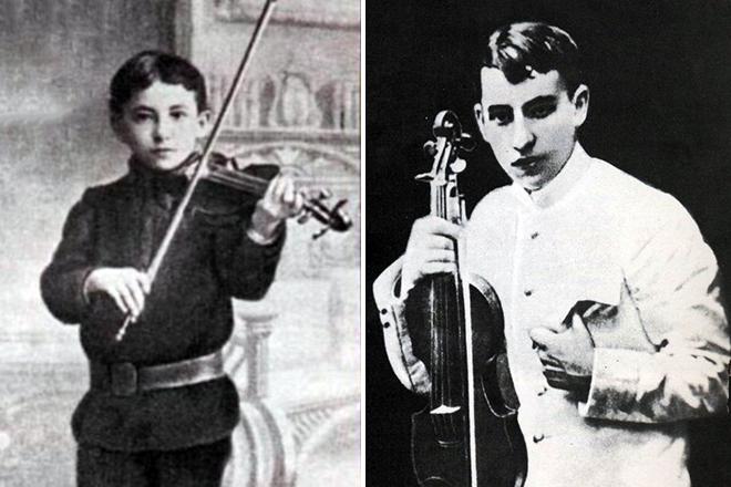Исаак Дунаевский в детстве и молодости