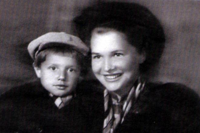Александр Пороховщиков в детстве