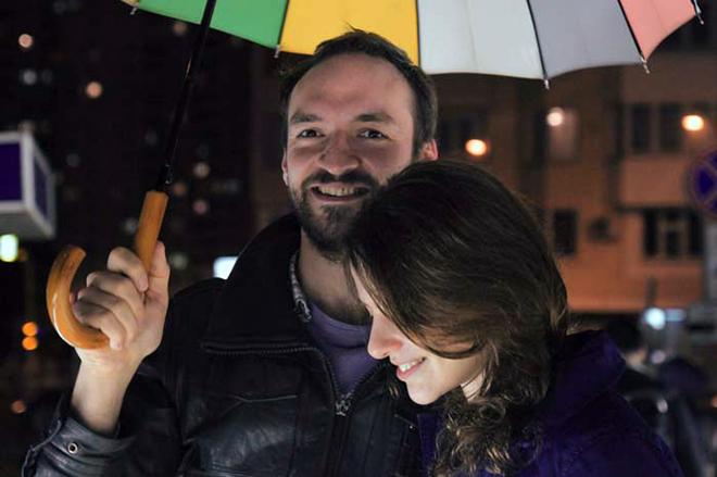 Лора Горбунова и ее муж Семен