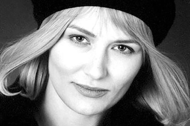 Елена Шевченко в молодости