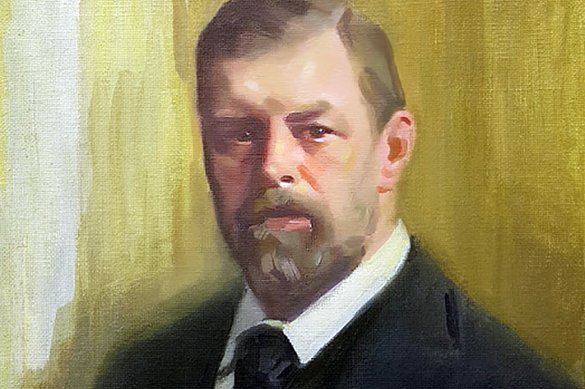 Портрет Брэма Стокера