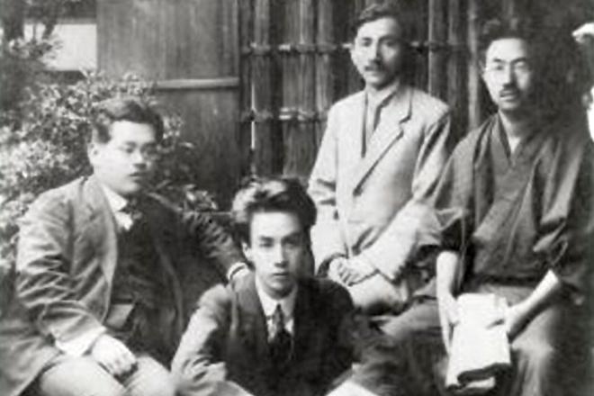 Кикути Хироси, Рюноскэ Акутагава, Кумэ Масао и Ямамото Юдзи