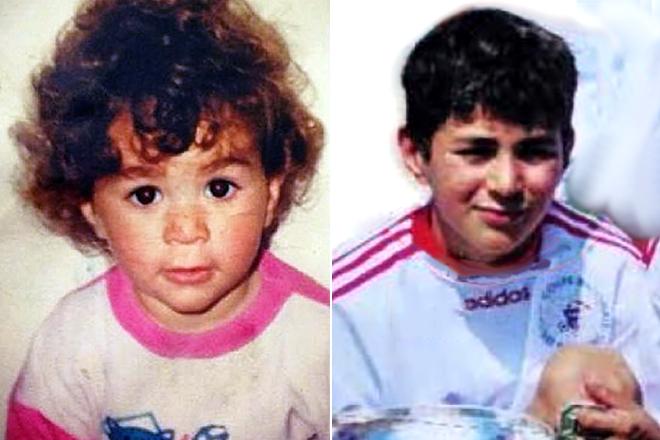 Карим Бензема в детстве