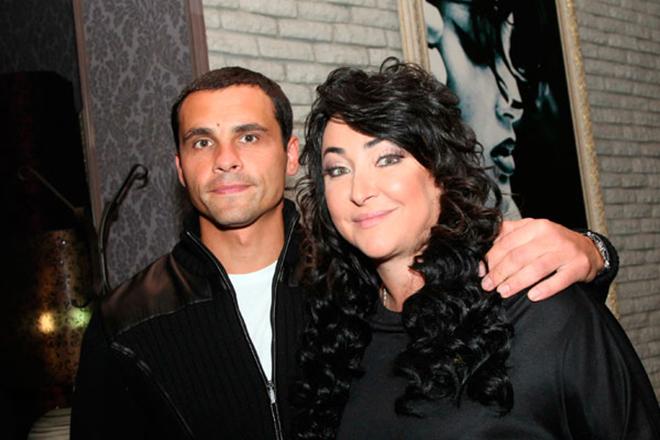 Лолита Милявская с молодым мужем