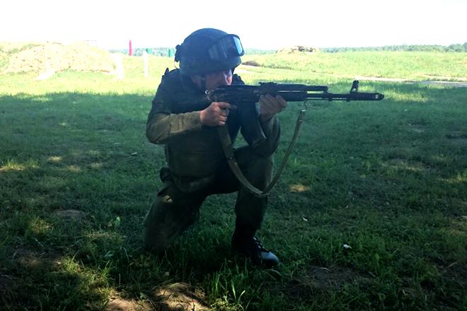 Роман Худяков служил в миротворческих войсках